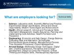 what are employers looking for11