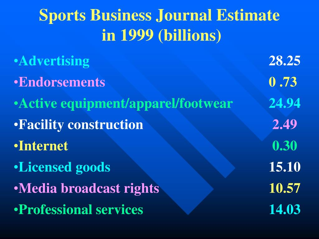 Sports Business Journal Estimate