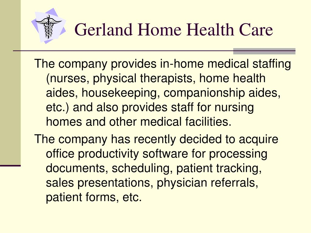 Gerland Home Health Care
