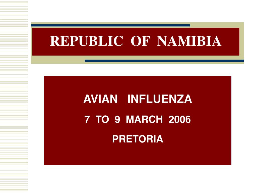 republic of namibia l.