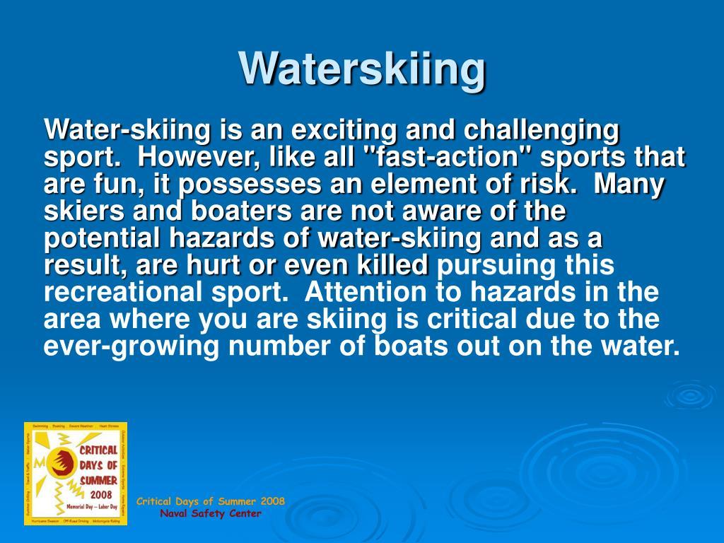 waterskiing l.