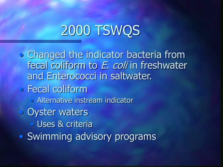 2000 tswqs