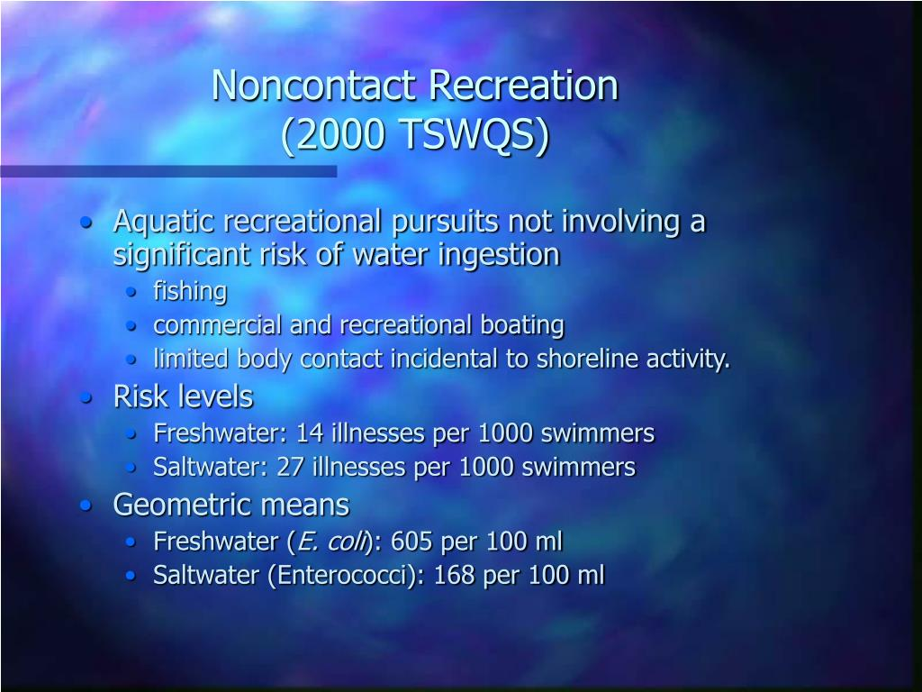 Noncontact Recreation