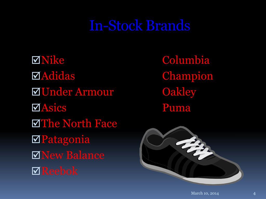In-Stock Brands
