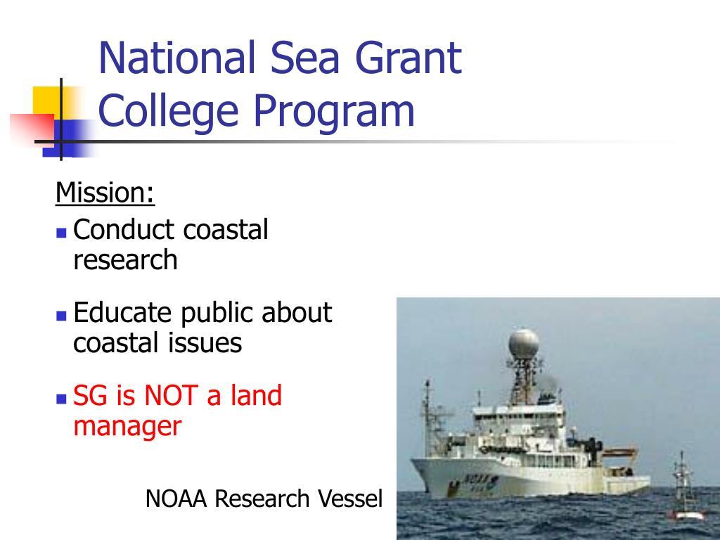 National Sea Grant