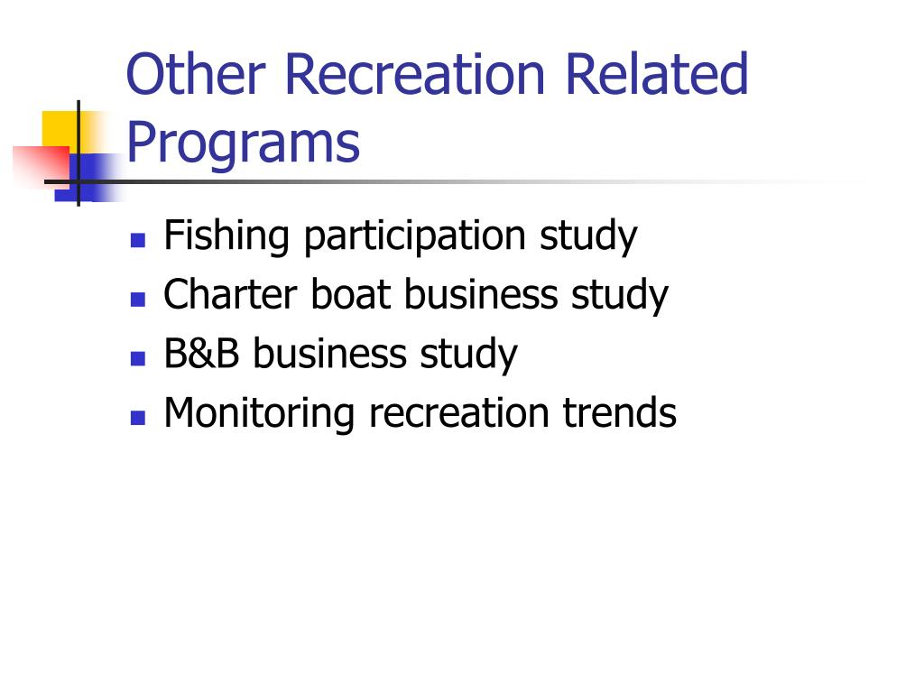 Other Recreation Related Programs