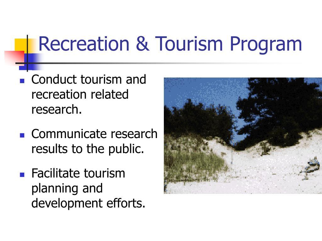 Recreation & Tourism Program