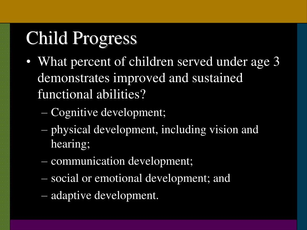 Child Progress