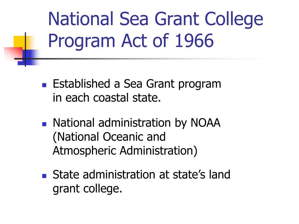 National Sea Grant College