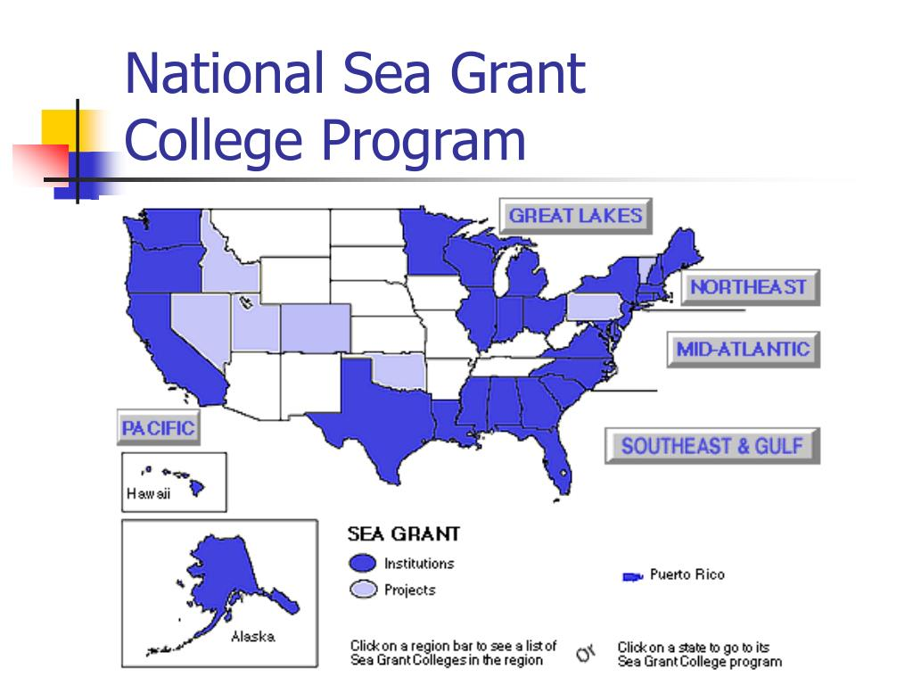 National Sea Grant