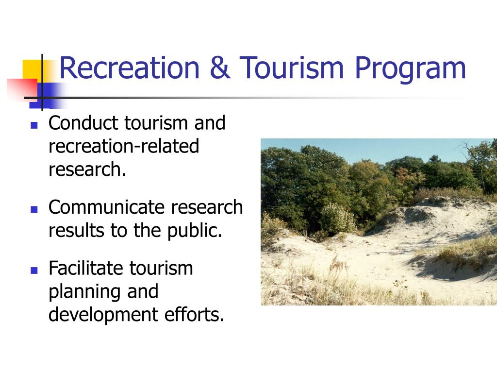 Recreation & Tourism Program