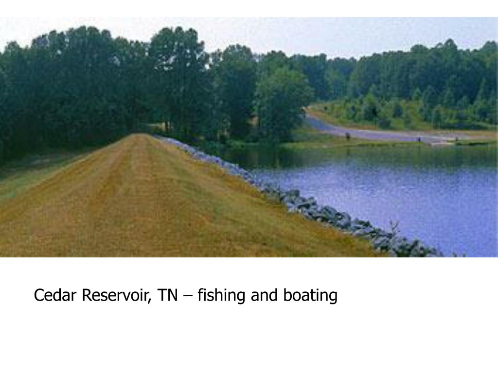 Cedar Reservoir, TN – fishing and boating