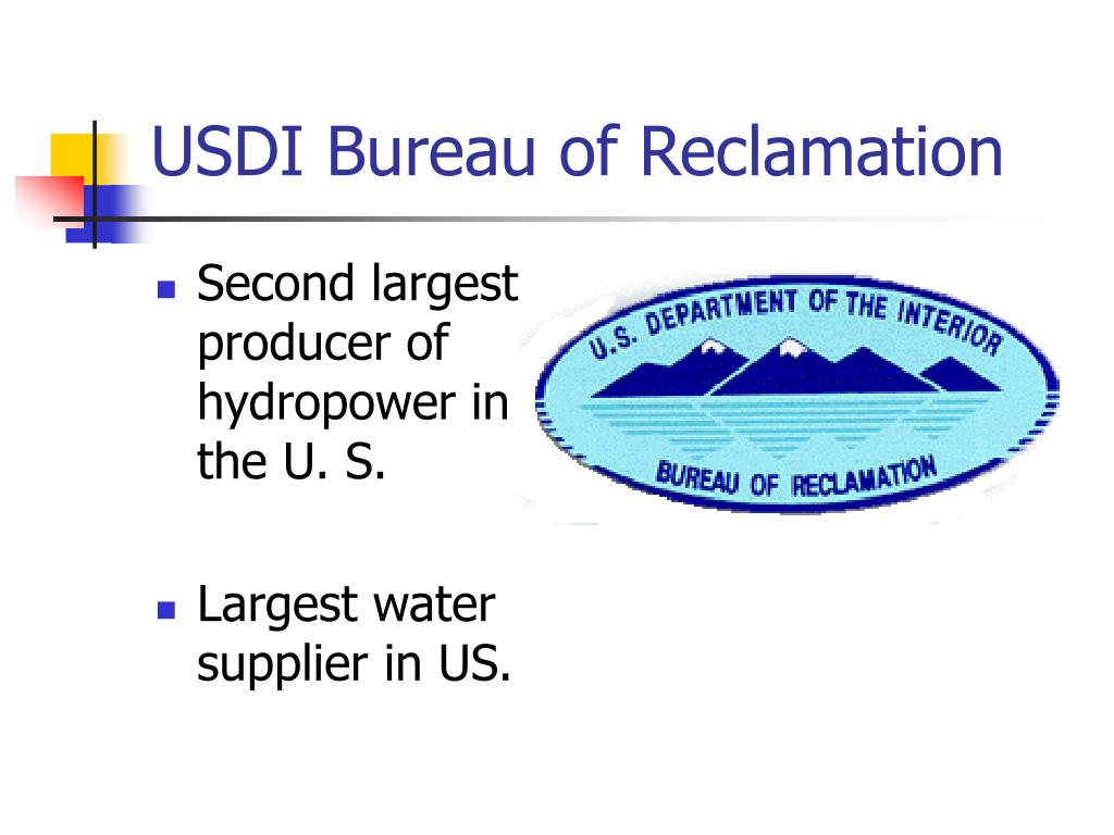 USDI Bureau of Reclamation