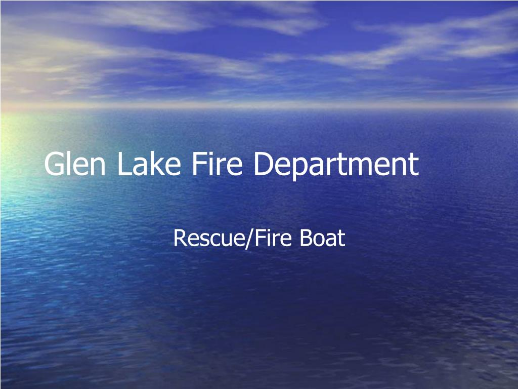 glen lake fire department l.