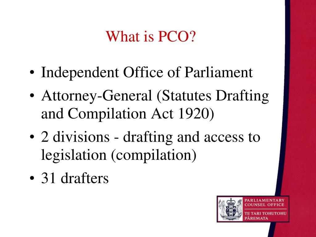 What is PCO?