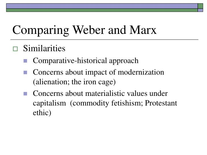 weber alienation Alienation karl marx and max weber were economists although emile  durkheim and max weber are the founders of the modern theory of sociology,  karl.
