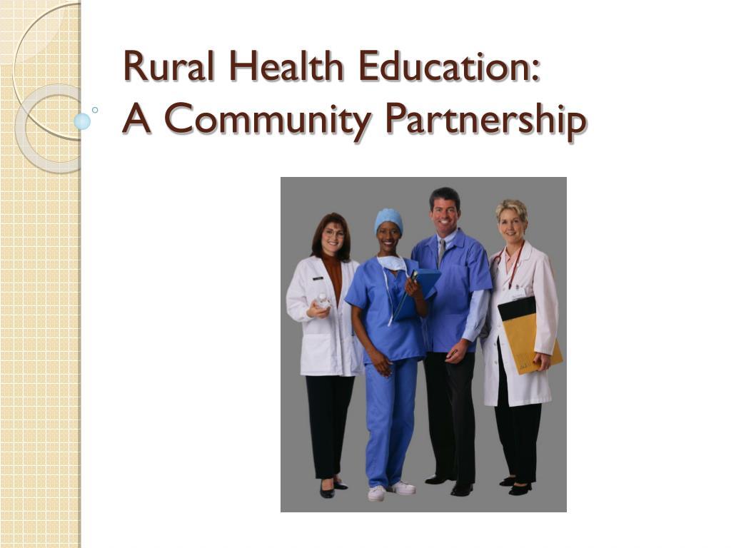 Rural Health Education: