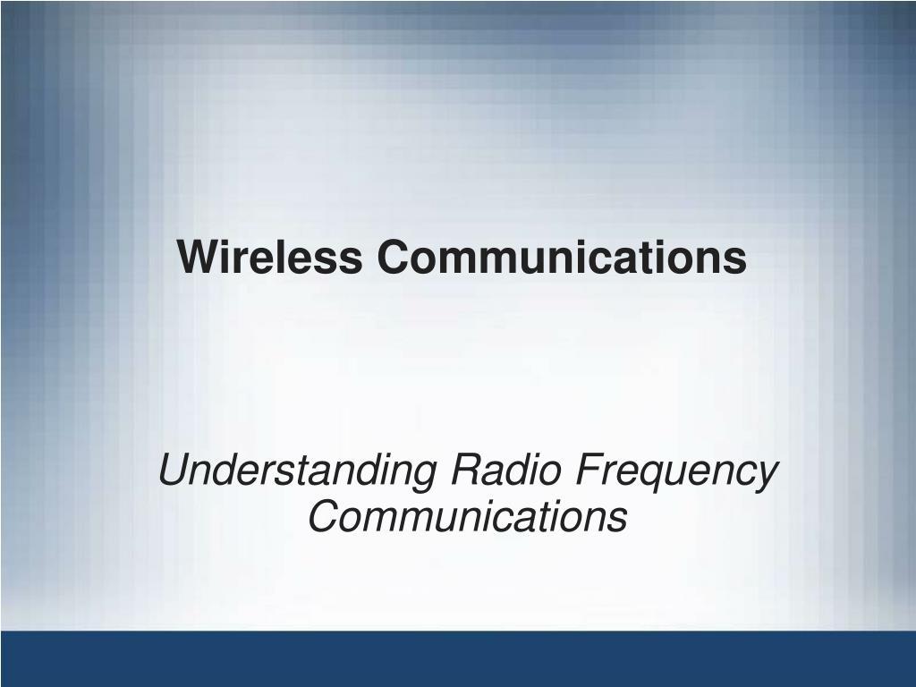 wireless communications l.