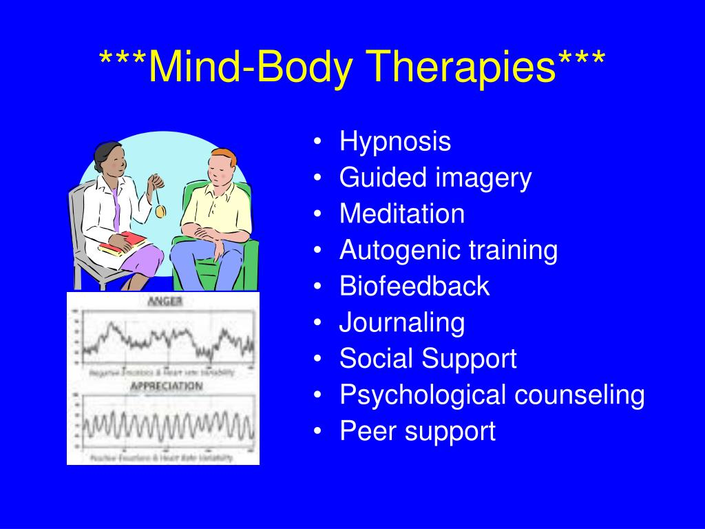 ***Mind-Body Therapies***