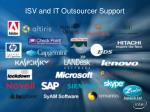 isv and it outsourcer support