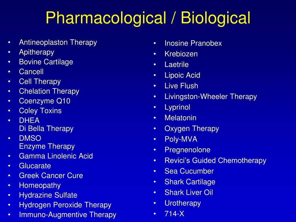 Antineoplaston Therapy