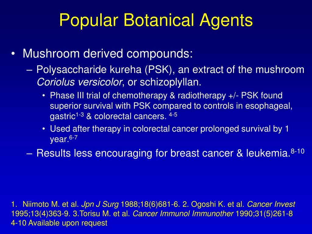 Popular Botanical Agents