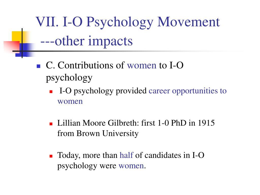 women contribution to psychology