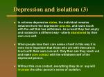 depression and isolation 3