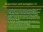 depression and metaphor 1