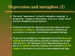 depression and metaphor 2