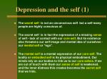 depression and the self 1