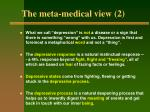 the meta medical view 2