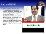 iraq and wmd