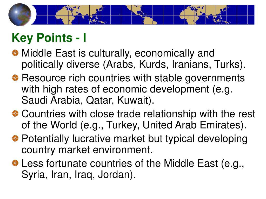 Key Points - I