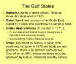 the gulf states