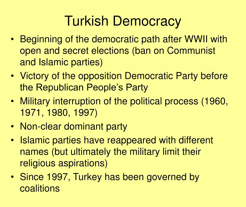 Turkish Democracy