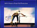100 point to point fall protection