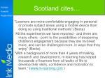 scotland cites