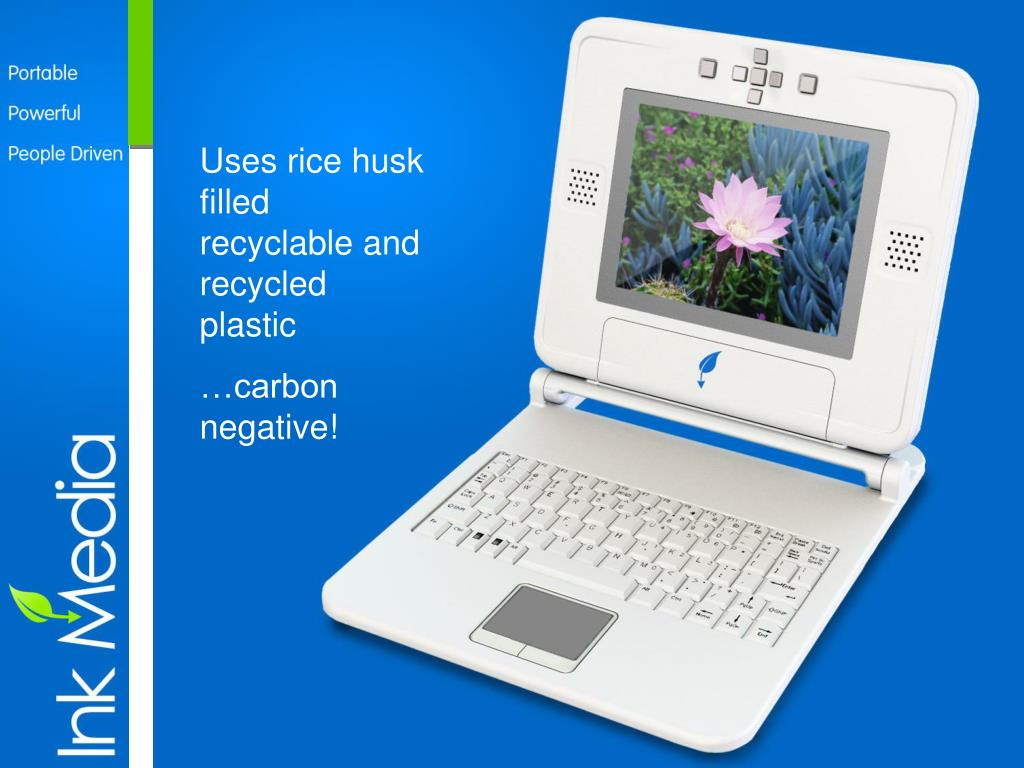 Uses rice husk filled recyclable and recycled plastic