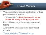 threat models33