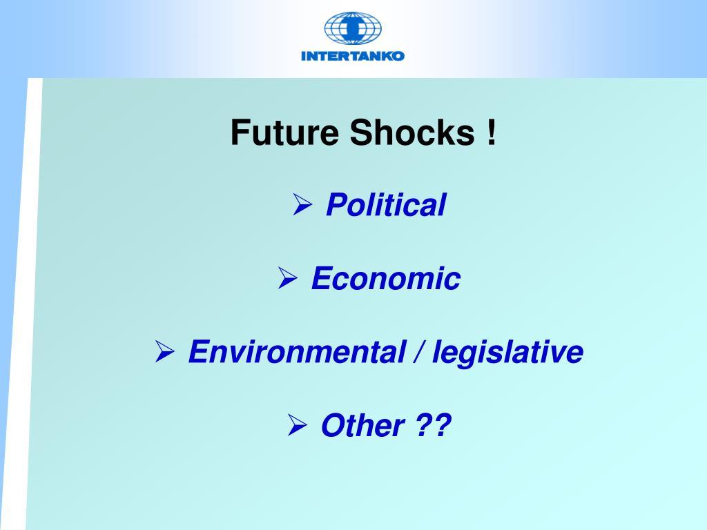 Future Shocks !