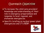 outreach objective