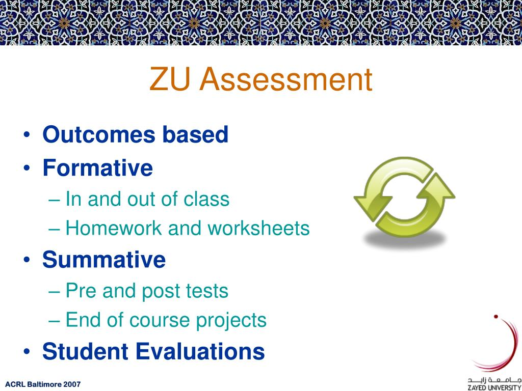 ZU Assessment