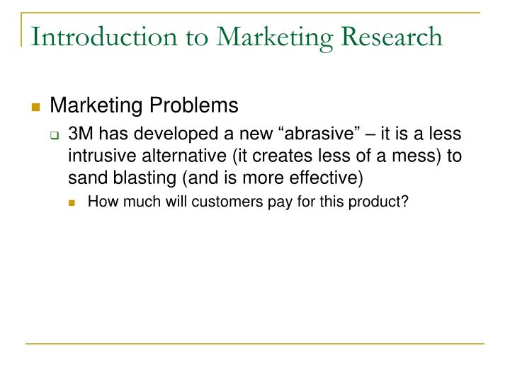 Introduction to marketing research3