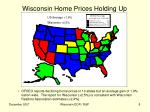 wisconsin home prices holding up