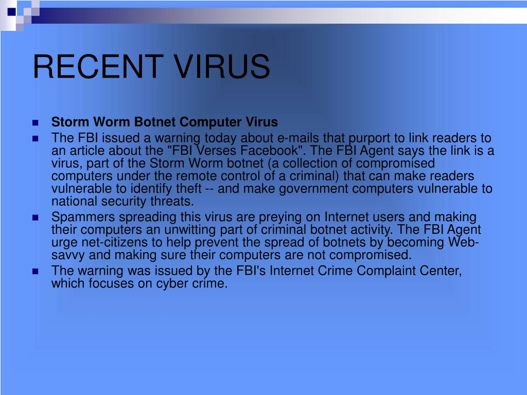 PPT - Boot Sector Virus PowerPoint Presentation - ID:642359