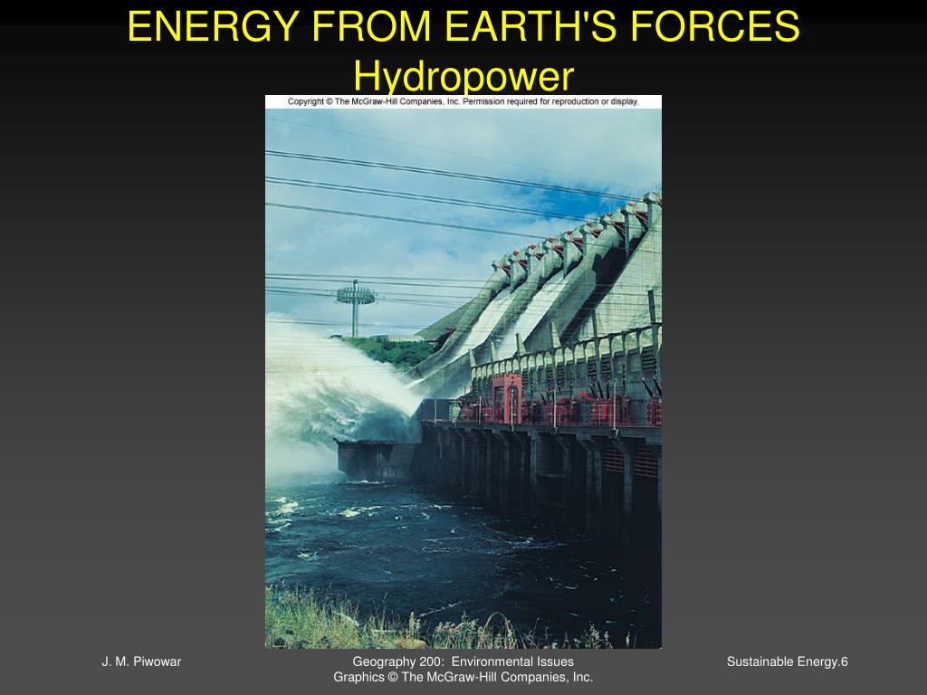 ENERGY FROM EARTH'S FORCES