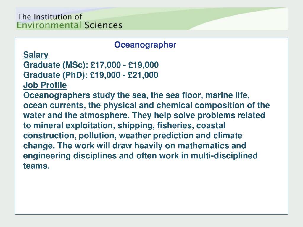 Oceanographer