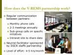 how does the v rems partnership work