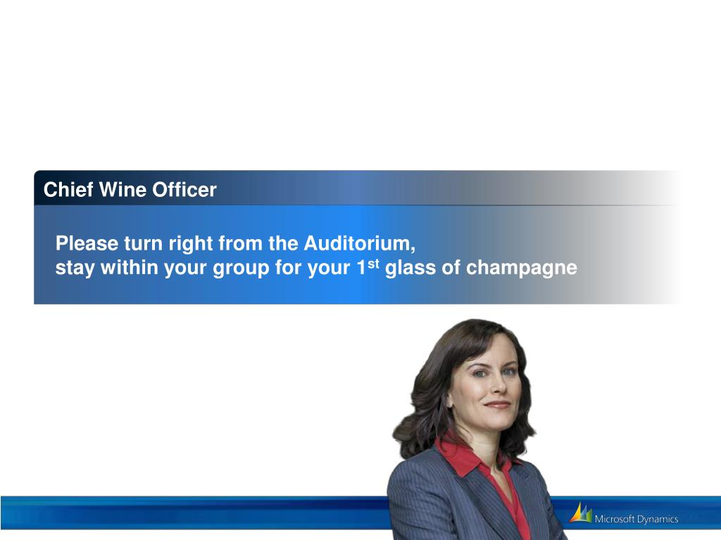 Chief Wine Officer